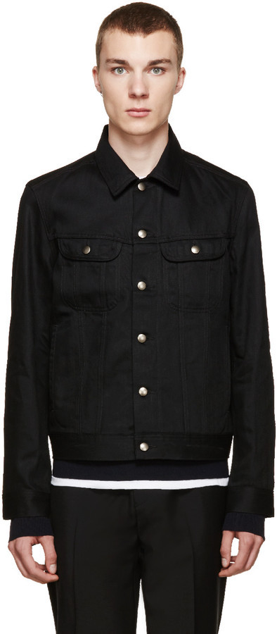A.P.C. Black Denim Detroit Jacket | Where to buy & how to wear