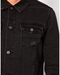 Asos Denim Jacket With Distressed Effect Where To Buy