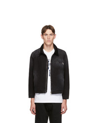BILLY Black Classic Denim Work Jacket
