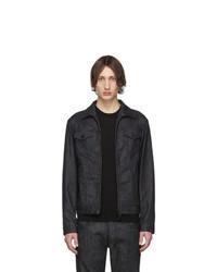 DSQUARED2 Black Denim Boxy Jacket