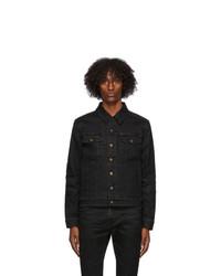 Saint Laurent Black Denim Classic Jacket