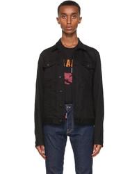 DSQUARED2 Black Denim Icon Jacket
