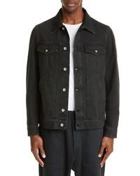 Barena Venezia Black Denim Jacket