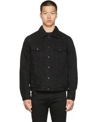 Diesel Black Denim Nhill C1 Jacket
