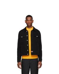 Kenzo Black Denim Phoenix Jacket