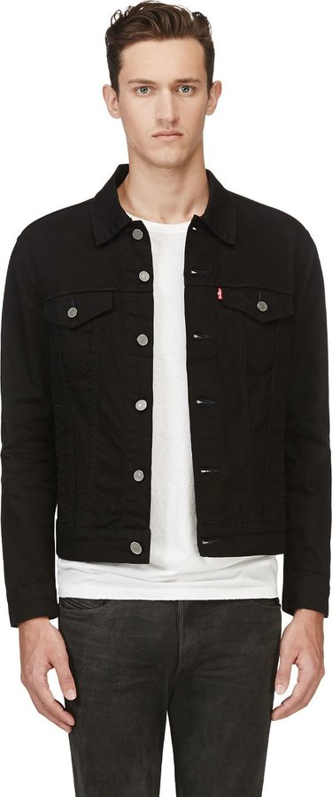 Levi&39s Black Denim The Trucker Jacket | Where to buy &amp how to wear
