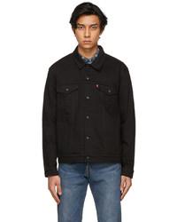 Levi's Black Denim Trucker Jacket