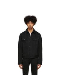 Moussy Vintage Black Regular Denim Jacket