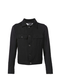 Ann Demeulemeester Chest Pocket Jacket Black