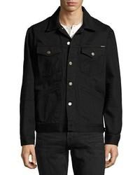 Tom Ford Classic Western Denim Jacket Worn Black
