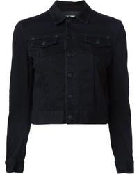 Cropped denim jacket medium 515525