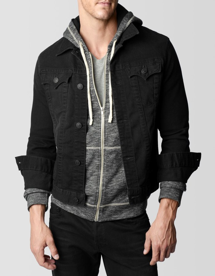 ... Black Denim Jackets True Religion Danny Denim Jacket