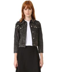 Marc Jacobs Denim Shrunken Jacket