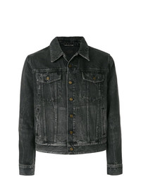 Saint Laurent Denim Sunset Patch Jacket