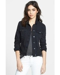 Women's Black Denim Jackets by Paige | Women's Fashion