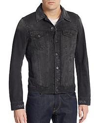 Diesel Elshar Distressed Denim Jacket