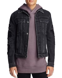 Helmut Lang Distressed Denim Jacket