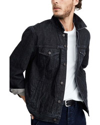 Madewell Dunlap Wash Oversize Jean Jacket