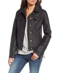 Levi's Faux Leather Trucker Jacket