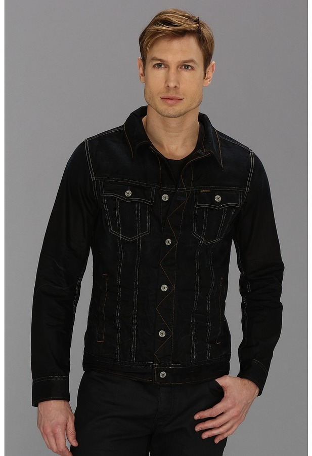 c7dde128bc6 ... Black Denim Jackets G Star G Star Slim Tailor 3d Jacket In Lexicon  Indigo Aged ...