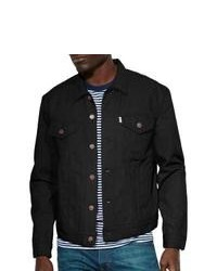 Levi S Denim Trucker Jacket Black