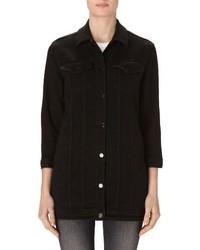 Maxi longline denim jacket medium 3944276