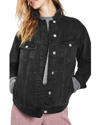 Topshop Oversize Denim Jacket