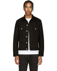 Paul Smith Ps By Black Denim Jacket