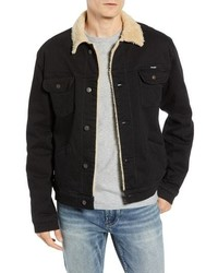 WRANGLE R Heritage Fleece Lined Denim Jacket