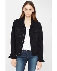 Black Womens Denim Jacket