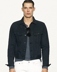 Ralph Lauren Black Label Denim Mason Trucker Jacket