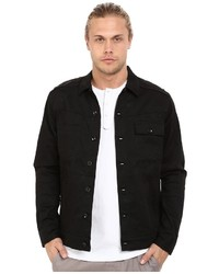 Publish Sander Marble Printed Stretch Twill Riders Style Jacket