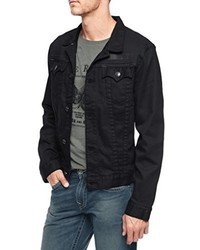 True Religion Danny Black On Black Jacket