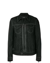 Neil Barrett Zipped Denim Jacket