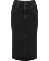 Givenchy Ed Denim Midi Skirt