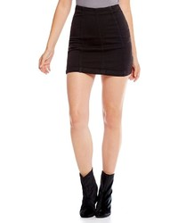 Free People Denim Modern Femme Mini Skirt