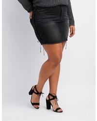 03a85e796 Women's Mini Skirts by Charlotte Russe | Women's Fashion | Lookastic.com