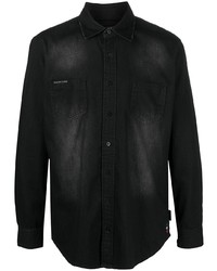 Philipp Plein Button Down Denim Shirt