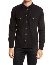 Billy Reid Denim Western Shirt