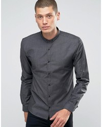 Hugo Boss Hugo By Smart Shirt Slim Fit Stretch Denim Dot