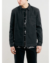 Laurèl Ltd Laurel Canyon Black Denim Over Shirt
