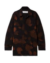 MARQUES ALMEIDA Oversized Bleached Denim Shirt