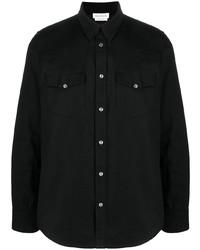 Alexander McQueen Selvedge Tape Denim Shirt