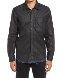 7 For All Mankind Signature Denim Button Up Shirt