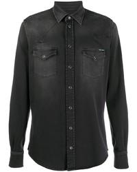 Dolce & Gabbana Stonewashed Denim Shirt