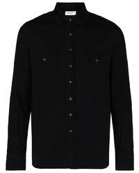 Saint Laurent Stonewashed Western Shirt