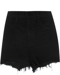 Alexander Wang Frayed Denim Shorts