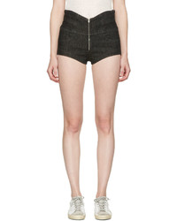 Isabel Marant Black Denim Everson Shorts