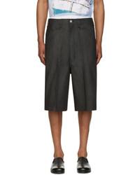Black denim shorts medium 3698705