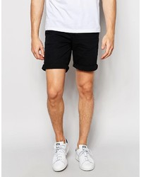 ONLY & SONS Black Denim Shorts